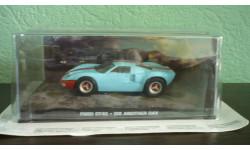 FORD GT40 1968 'DIE ANOTHER DAY', масштабная модель, The James Bond Car Collection (Автомобили Джеймса Бонда), 1:43, 1/43