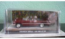 CHEVROLET IMPALA CABRIOLET 1973 ' LIVE AND LET DIE', масштабная модель, The James Bond Car Collection (Автомобили Джеймса Бонда), scale43