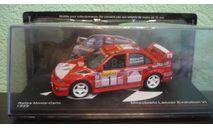 Mitsubishi Lancer Evo VI #1 Winner Rallye Monte Carlo 1999, масштабная модель, Altaya Rally, scale43