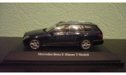 Mercedes-Benz E-class T-Modell S212(1)  2009  tansanit blue, масштабная модель, Schuco, 1:43, 1/43