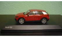 Audi Q2 2016, масштабная модель, iScale, scale43