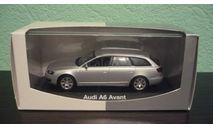 Audi A6 Avant  (C6)  silver, масштабная модель, Minichamps, 1:43, 1/43