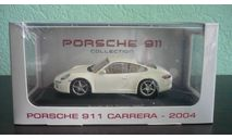 Porsche 911 (997) Carrera Coupe 2004, масштабная модель, Atlas, 1:43, 1/43