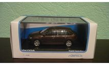 SKODA RAPID SPACEBACK 2014, масштабная модель, Škoda, Abrex, scale43