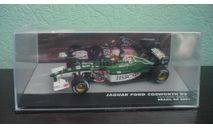 Jaguar Ford Cosworth R2 #19 Brazil GP formula 1 2001 Luciano Burti, масштабная модель, Altaya, 1:43, 1/43