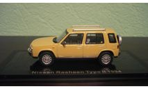 Nissan Rasheen 1995, масштабная модель, Norev, scale43