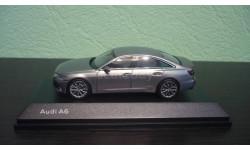 Audi A6 (C8) limousine 2018 taifun grey, масштабная модель, iScale, 1:43, 1/43