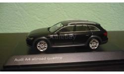Audi A4 Allroad Quattro (B9) myth black, масштабная модель, Spark, 1:43, 1/43