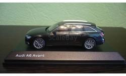 Audi A6 Avant (C8)  2018 vesuv gray, масштабная модель, iScale, 1:43, 1/43