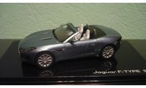 Jaguar F-Type V8-S Cabriolet   Satellite Grey, масштабная модель, IXO Road (серии MOC, CLC), 1:43, 1/43