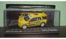 Suzuki Ignis S1600  #37  Rally Monte Carlo 2005, масштабная модель, Altaya Rally, 1:43, 1/43