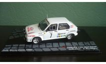 Citroen Visa 1000 Pistes  #7  Rally Monte Carlo 1985, масштабная модель, Citroën, Altaya Rally, 1:43, 1/43