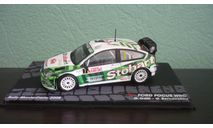 Ford Focus WRC #7 Rally Monte Carlo 2008, масштабная модель, Altaya Rally, 1:43, 1/43