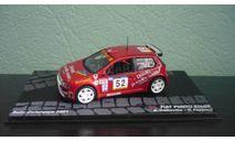Fiat Punto S1600  #52  Rally Catalunya 2001, масштабная модель, Altaya Rally, 1:43, 1/43