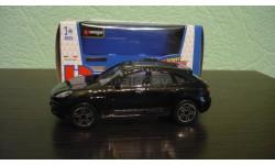 Porsche Macan, масштабная модель, Bburago, scale43