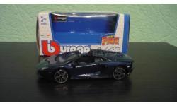 Lamborghini Aventador LP700-4 Roadster  Blue, масштабная модель, Bburago, scale43