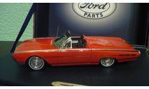 Ford Thunderbird Sport Roadster 1962 Red, масштабная модель, Motorhead, 1:43, 1/43