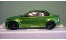 BMW 1series M Coupe E82 2013 greenmetallic   1:18, масштабная модель, GT Spirit, 1/18