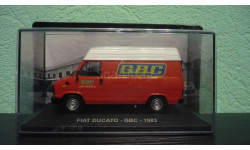 Fiat Ducato GBC 1983, масштабная модель, Altaya, 1:43, 1/43