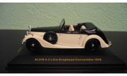 Alvis 4.3 Litre Drophead Convertible open 1938