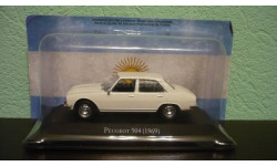 Peugeot 504 Saloon 1969, масштабная модель, Altaya, 1:43, 1/43