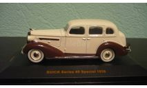Buick Series 40 Special 1936, масштабная модель, IXO Museum (серия MUS), 1:43, 1/43