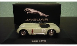 Jaguar C-Type #50 GP Reims 1952 Stirling Moss, масштабная модель, Atlas, scale43