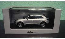 Porsche Macan 2013, масштабная модель, Minichamps, 1:43, 1/43