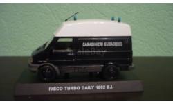 Iveco Turbo Daily Carabinieri Subacquei 1992, масштабная модель, Altaya, 1:43, 1/43