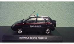 Renault Scenic RX4 Carabinieri 2003, масштабная модель, Altaya, 1:43, 1/43