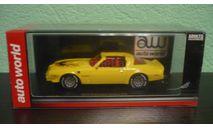 Pontiac Firebird Trans Am 1977, масштабная модель, ERTL (Auto World), scale43