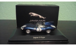 Jaguar D type #3 Winer 24h LeMans 1957, масштабная модель, Atlas, scale43
