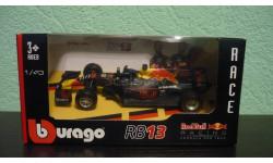 Red Bull RB13 #33 Formula 1 2017  Max Verstappen, масштабная модель, Bburago, 1:43, 1/43