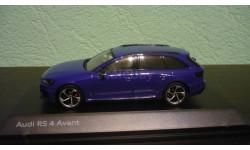 Audi  RS4 Avant (B9)  2017, масштабная модель, Spark, 1:43, 1/43