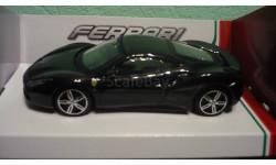 Ferrari 488 GTB COUPE, масштабная модель, Bburago, scale43