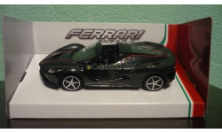 Ferrari LaFerrari Aperta Spider, масштабная модель, Bburago, scale43
