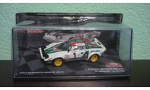 Lancia Stratos HF #1 Winner Rallye Monte Carlo 1977, масштабная модель, Altaya Rally, 1:43, 1/43