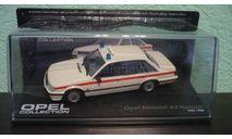 Opel Senator A2 Notarzt Year 1982-1986, масштабная модель, Altaya, scale43