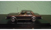Dodge Diplomat, масштабная модель, American Heritage Models, scale43