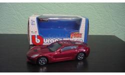 Corvette Stingray  2014, масштабная модель, Bburago, scale43, Chevrolet