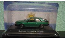 Renault Fuego GTX 2.0 1984, масштабная модель, Altaya, 1:43, 1/43