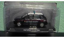 Fiat Stilo 1.9 JTD Carabinieri 2001, масштабная модель, Altaya, 1:43, 1/43