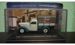 Fiat 1100 ELR Camioncino Pick-Up Yoga, масштабная модель, Altaya, scale43
