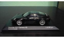 Porsche 911 (992) Carrera 4S  2019, масштабная модель, Minichamps, 1:43, 1/43