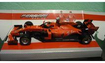 Ferrari SF90 #5 F1 2019 Sebastian Vettel, масштабная модель, BBurago, scale43