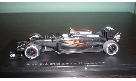 McLaren MP4-31 #22  2016 Jenson Button, масштабная модель, Ebbro, scale43