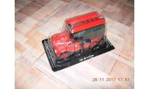 Автомобиль на Службе №3 - ГАЗ-69 ПМГ-20 Пожарный, масштабная модель, Автомобиль на службе, журнал от Deagostini, 1:43, 1/43