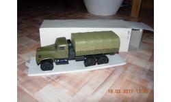 КрАЗ-214В с тентом