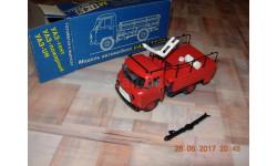 уаз 452 Д пожарный русская миниатюра, масштабная модель, 1:43, 1/43