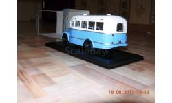 КАВЗ-651 Classicbus Бело-голубой, масштабная модель, 1:43, 1/43